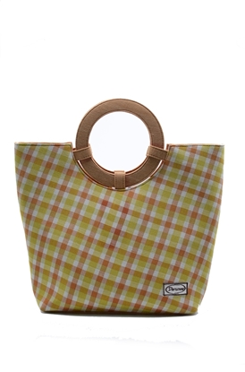 Picture of  Lemon Thai loincloth tote handbag