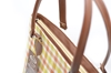Picture of กระเป๋าสะพายไหล่ผ้าขาวม้าคอตต้อนทอมือสีเลมอนทรงเหลี่ยม