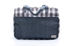 Picture of  Indigo with Thai loincloth travel bag