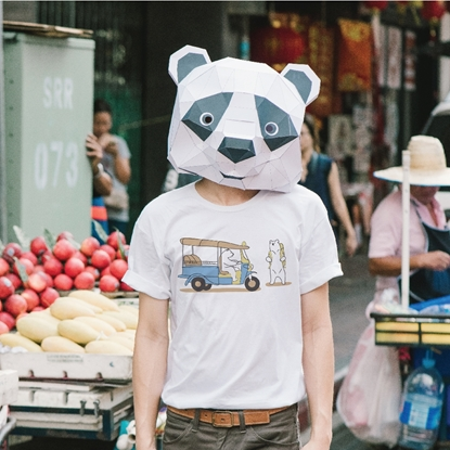 Picture of Tuk Tuk Wait For Me Unisex T-shirt
