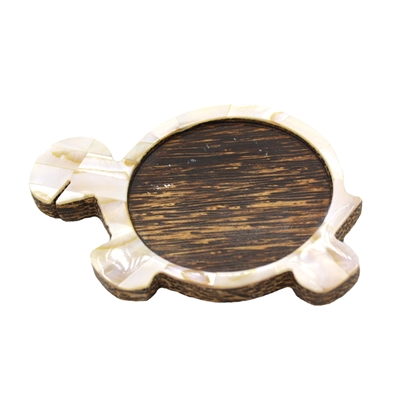 Picture of Brown Pearl Turtle Coaster