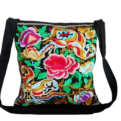 Picture of Beautiful Large Bag, Embroidered fabric Vintage Style