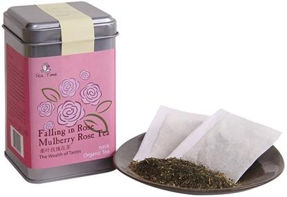Picture of TEA TIME TODAY Falling in Rose…Mulberry Rose