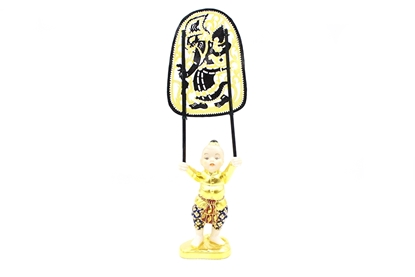Picture of Shadow Puppets Ben Ja Gai Ceramic doll
