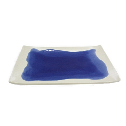 Picture of Blue pool ceramic plate