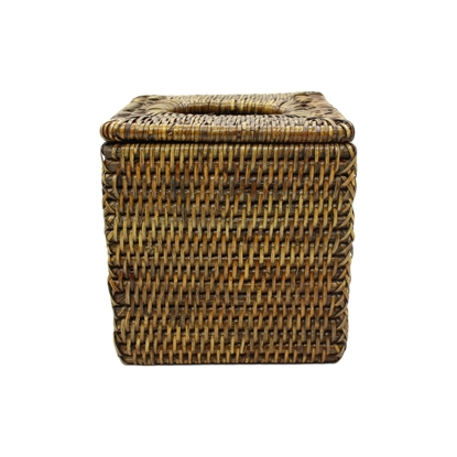 Picture of Square rattan Tissue box