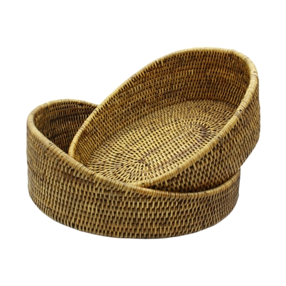 Picture of Rattan thick tray (2 pieces)