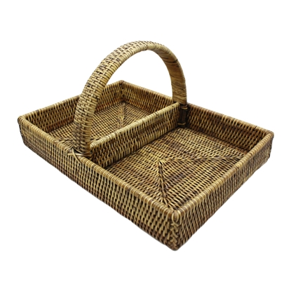 Picture of Rattan basket 2-slot