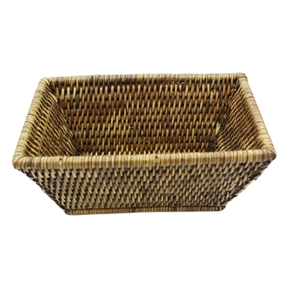Picture of Long rattan storage basket