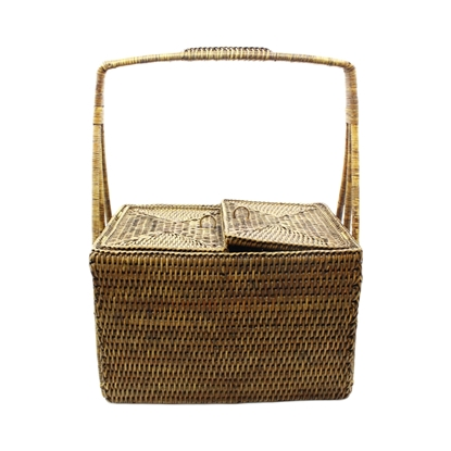 Picture of Rattan picnic basket