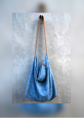 Picture of  Ars D Sine - Soft cotton hobo bag