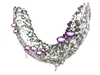 Picture of  Loyfar Pewter Orchid Eclipse Shape Object