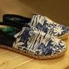 Picture of รองเท้าผ้าใบแบบสวม ผ้าคอตต้อน ลายอะโลฮ่า