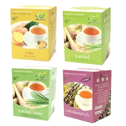 Picture of 4 Types Of Tea Organic Set