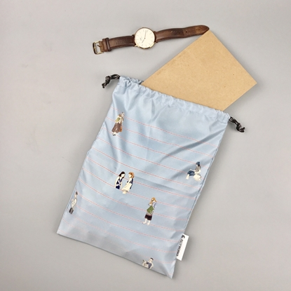 Picture of Blue Chill Drawstring Bag