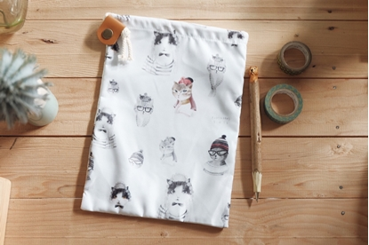 Picture of Cat Lover Drawstring Bag