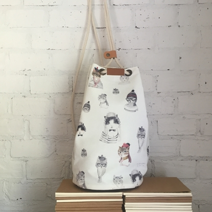 Picture of Cat Lover Bucket Backpack