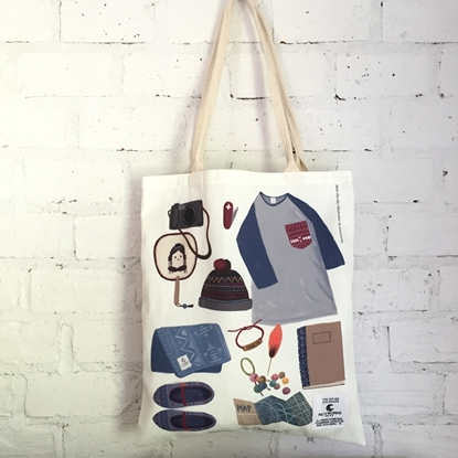 Picture of Boy Style Fabric Tote Bag