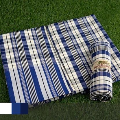 Picture of ผ้าขาวม้าลายสก็อตสีน้ำเงิน