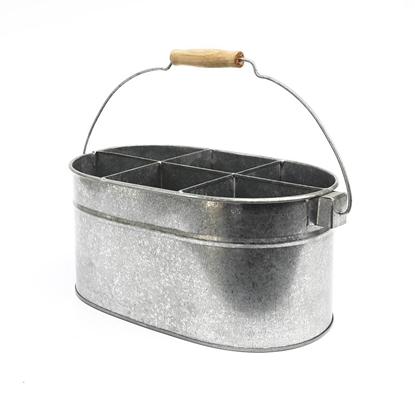 Picture of Galvanize 6-Partition Bucket