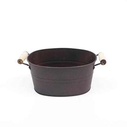 Picture of Copper Galvanize Bread Bucket (Small Size)