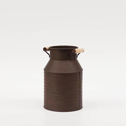 Picture of Copper Rust Galvanize Milk Can (Small Size)