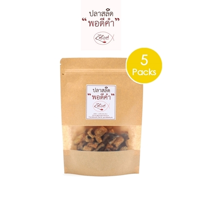 Picture of Crispy fried Snakeskin fish 100g. (pla salid) (5 Packs)