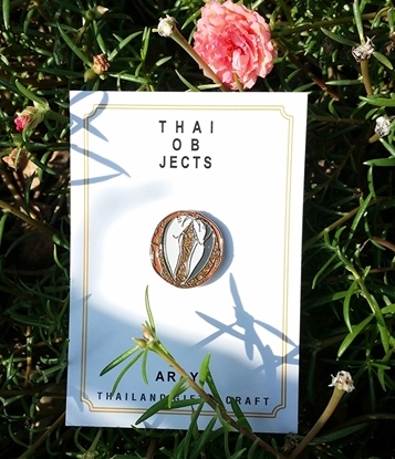 Picture of Thai Mackerel Thai Objects Brooch