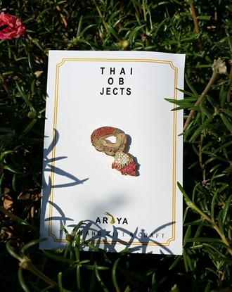 Picture of Thai Garland Thai Objects Brooch