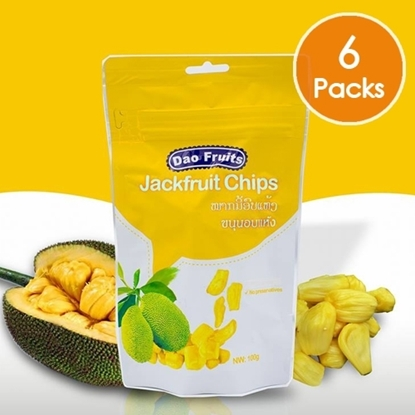 Picture of  Dao Jack Fruit Chips (6packs x 100g)
