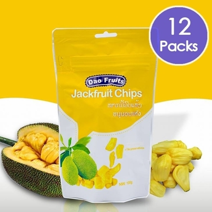 Picture of  Dao Jack Fruit Chips (12packs x 100g)