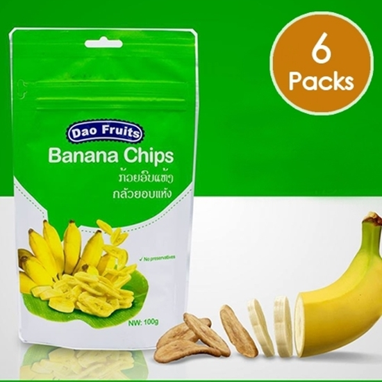 Picture of Dao Banana Chips (6packs x 100g)