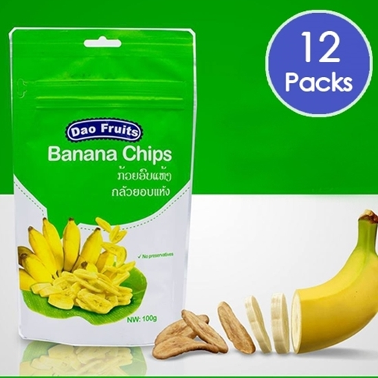 Picture of Dao Banana Chips (12packs x 100g)