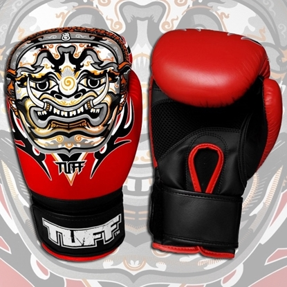 Picture of Tuff MuayThai Gloves Yak Red