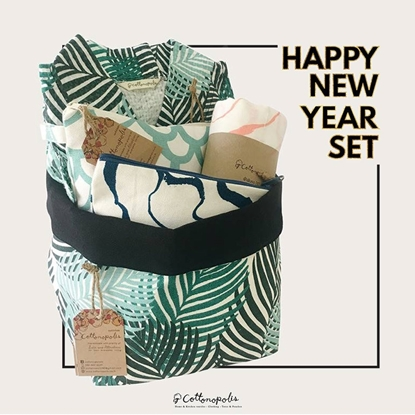Picture of LEAF GREEN NEW YEAR GIFT SET