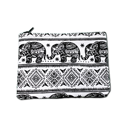 Picture of Tribal elephant Coin bag
