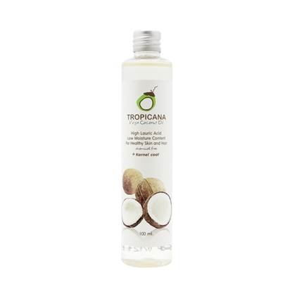Picture of 100% Organic Cold-Pressed Virgin Coconut Oil 100 ml.