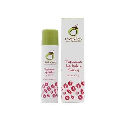 Picture of Natural Coconut Lip Balm Stick Cherry 4.5 g.