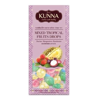 Picture of Mixed Tropical Fruits Drops(Durian-Mangosteen-Rambutan) 70 g.