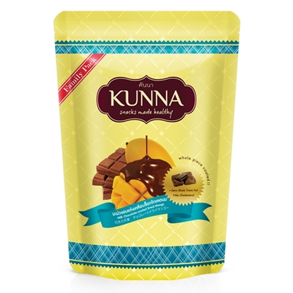 Picture of Milk Chocolate-coated Dried Mango (Family pack) 130 g.