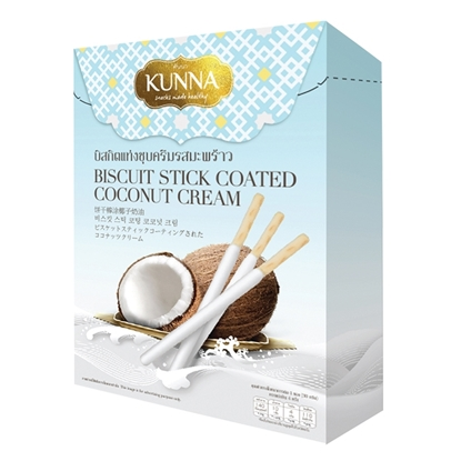Picture of Biscuit Stick Coated Coconut Cream