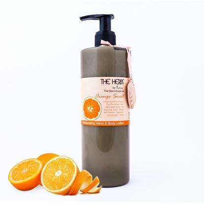 Picture of โลชั่นสำหรับทาผิวกายและมือ  กลิ่นส้ม 500มล.