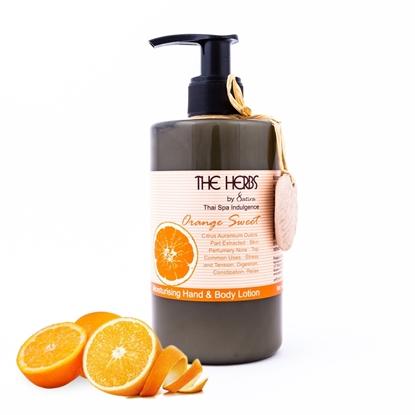 Picture of โลชั่นสำหรับทาผิวกายและมือ  กลิ่นส้ม 300มล.