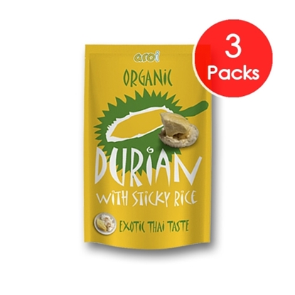 Picture of Freeze dried Sticky Rice with Durian 42g.. (3 Packs)