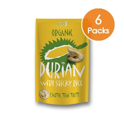 Picture of Freeze dried Sticky Rice with Durian 42g. (6 Packs)