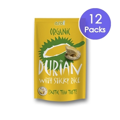 Picture of Freeze dried Sticky Rice with Durian 42g. (12 Packs)