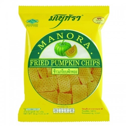 Picture of Manora Fried Pumpkin Chips 75 g.