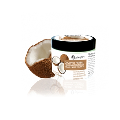 Picture of Coconut Herbal Hair Mask Treatment 300 g