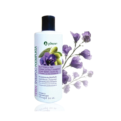Picture of Butterfly Pea Herbal Extract Shampoo 300 ml