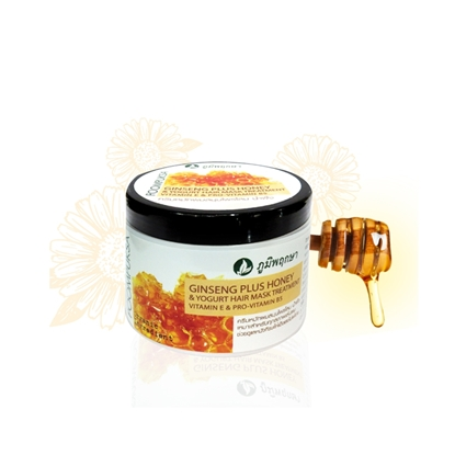 Picture of Ginseng Plus Honey & Yogurt Shampoo Hair Mask Treatment 300 g.